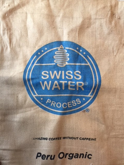 Swiss Water Process Jute Sack