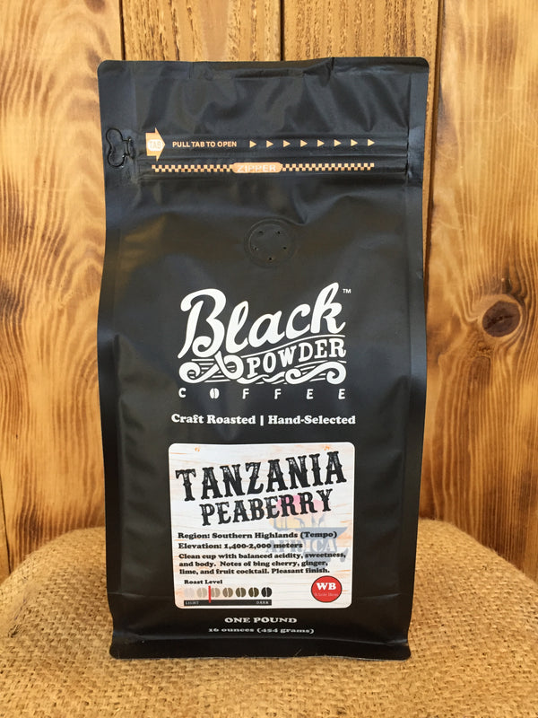 Tanzania Peaberry Craft Roasted Coffee