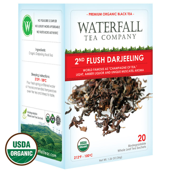 2nd Flush Darjeeling Tea - Organic
