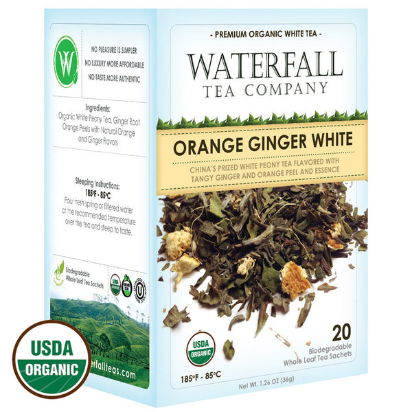 Orange Ginger White Tea
