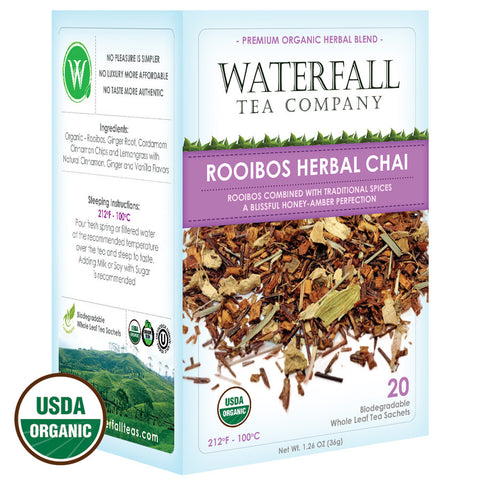 Rooibos Herbal Chai Tea