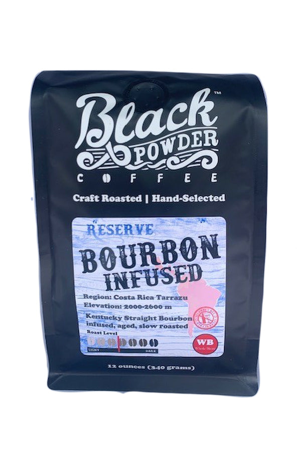Small Batch Bourbon Infused Coffee