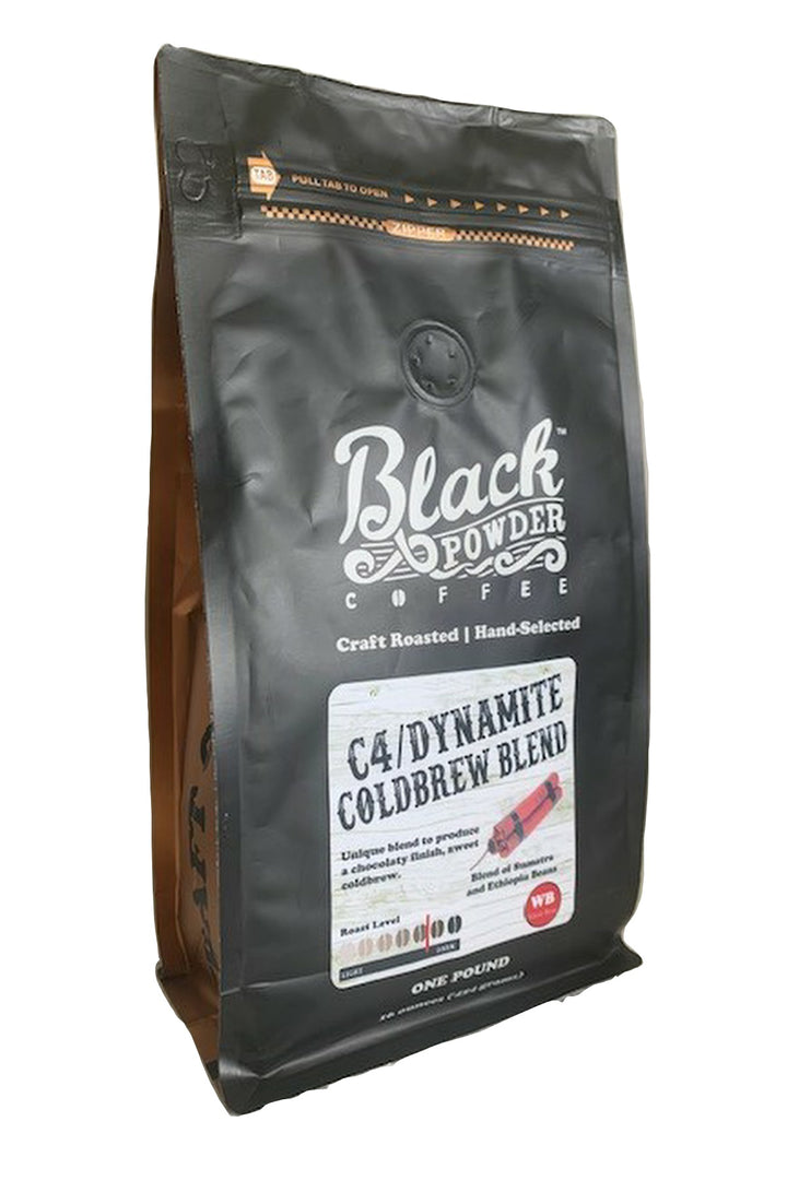 dynamite coffee cold brew blend c4