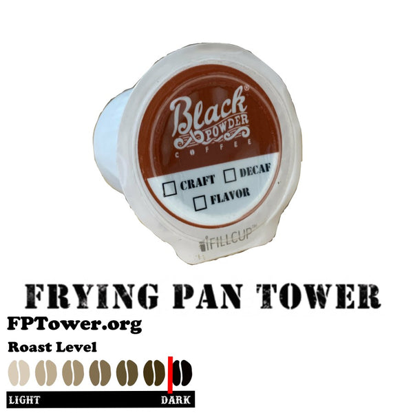 Frying Pan Tower Coffee Single Serve Pods K cups