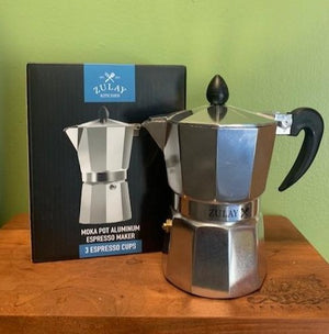 espresso coffee maker - moka pot 3 cup
