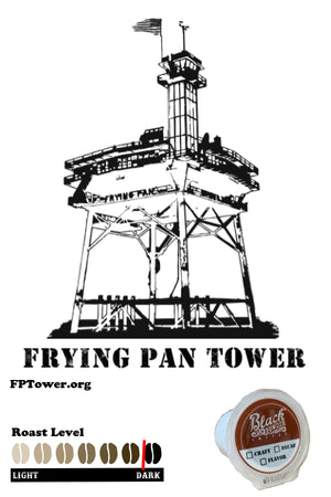 Frying Pan Tower Blend Craft Roasted Coffee Single Serve K Cup Pods