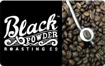 Black Powder Coffee Gift Cards Available Online