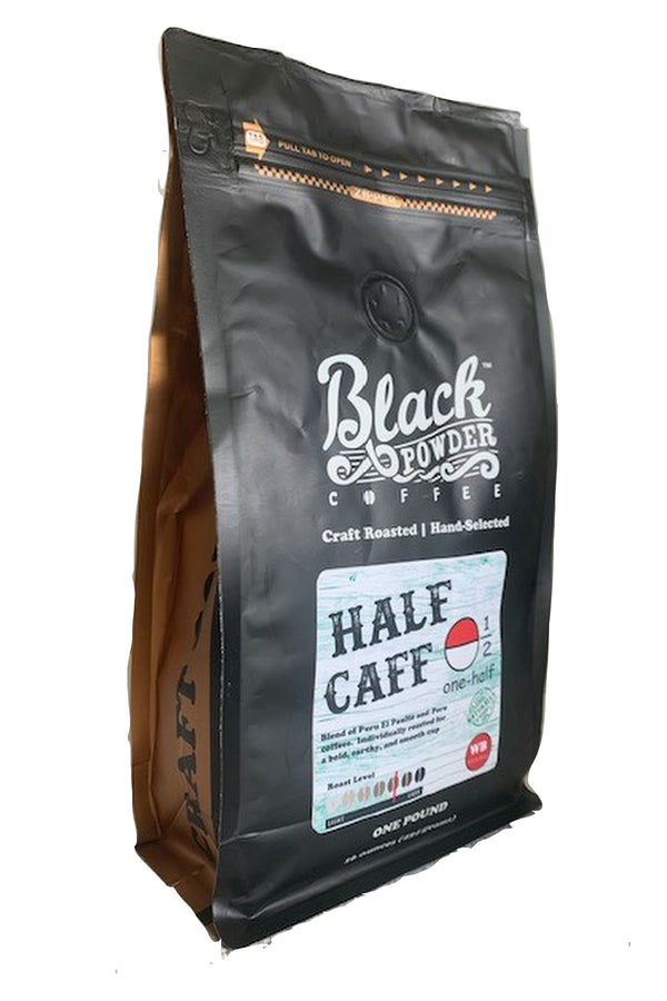 half caffeinated coffee blend