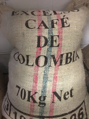 Naturally processed organic grown coffee from Colombia