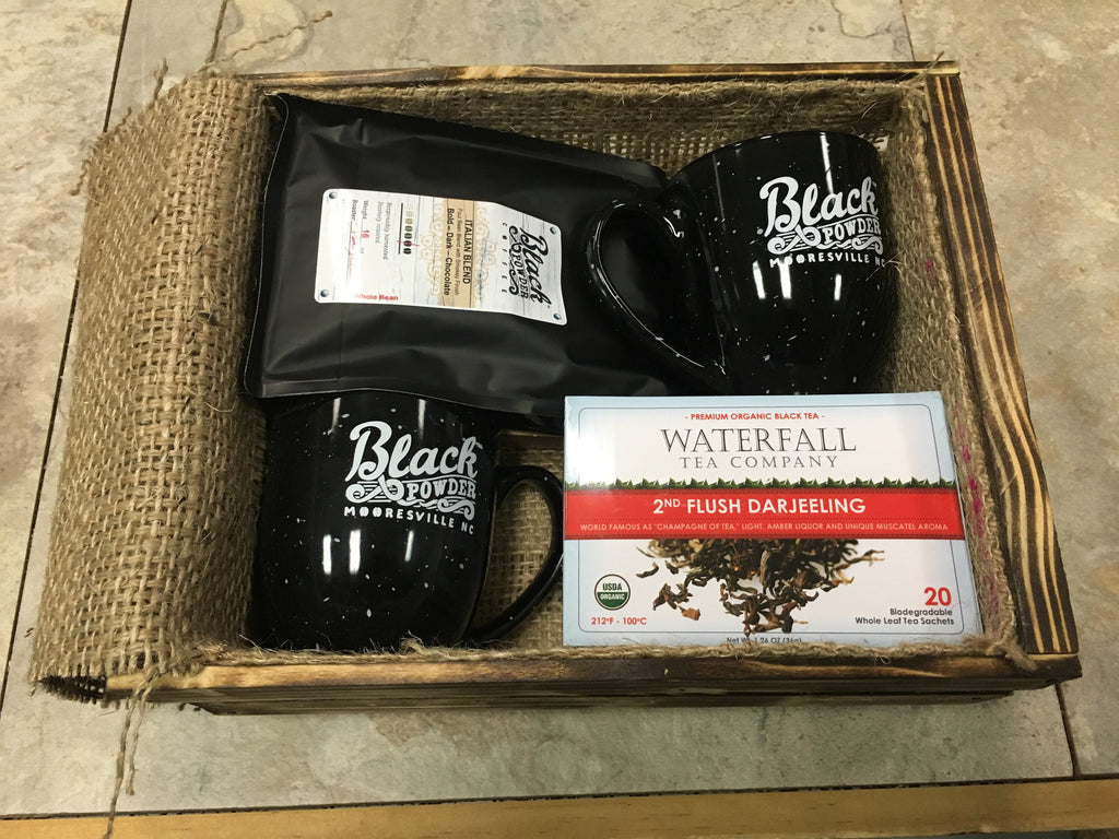 Gift Crate Italian Coffee & Tea | free freight