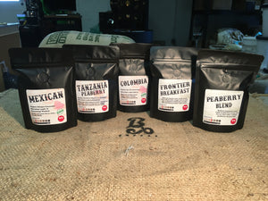 Medium Roast Coffee Sampler Packs