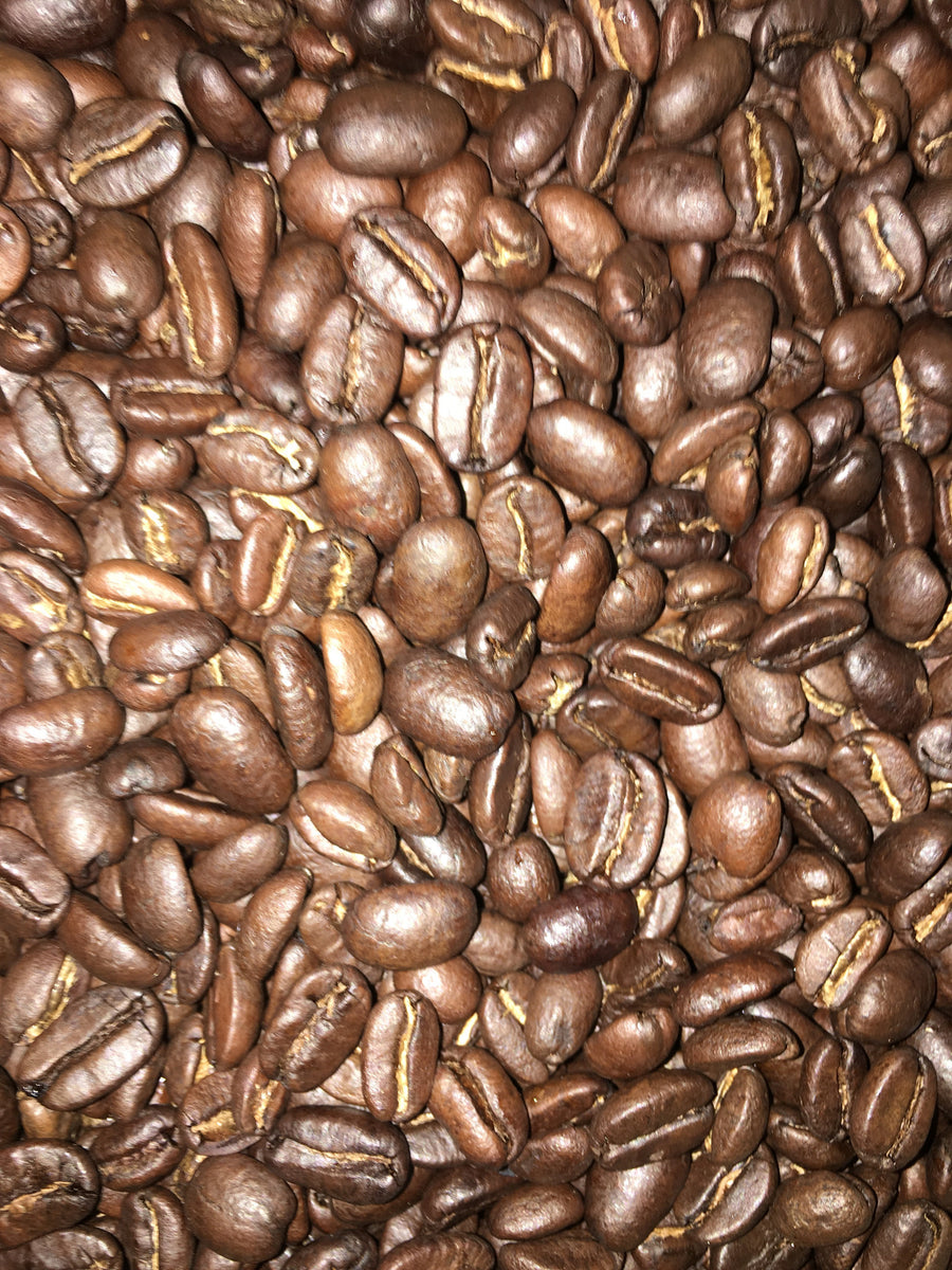 Prospector's Gold Dark and Medium Roast Beans