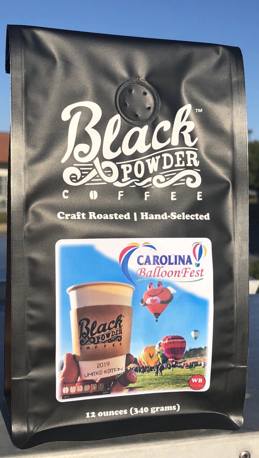 Carolina Ballloon Festival Limited Edition Colombian Coffee