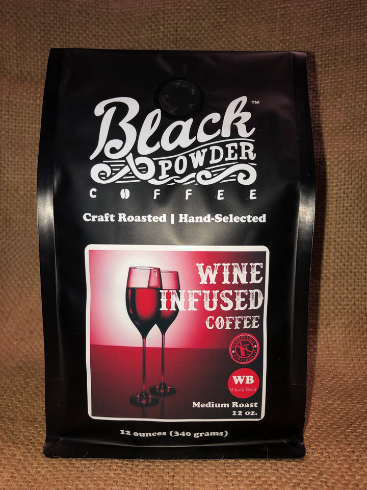 Cabernet Sauvignon Wine Infused Coffee