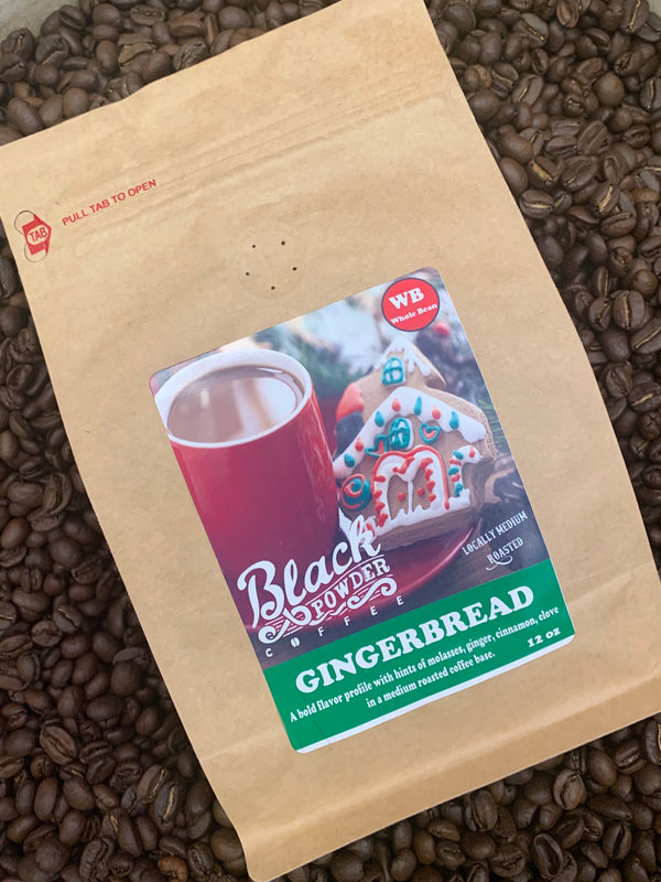 Gingerbread flavored coffee limited release for the holidays