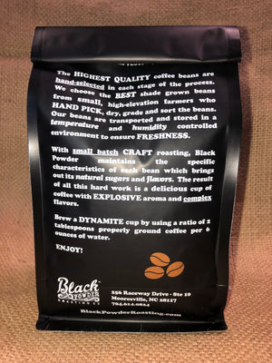 Wine infused craft roasted coffee