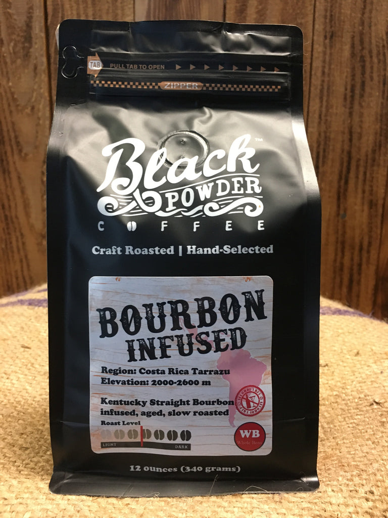 Bourbon Infused Coffee