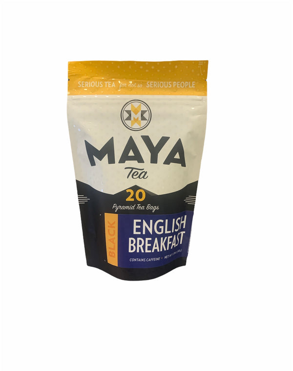 English Breakfast | Maya Tea | 20 Pyramid Black Tea Bags