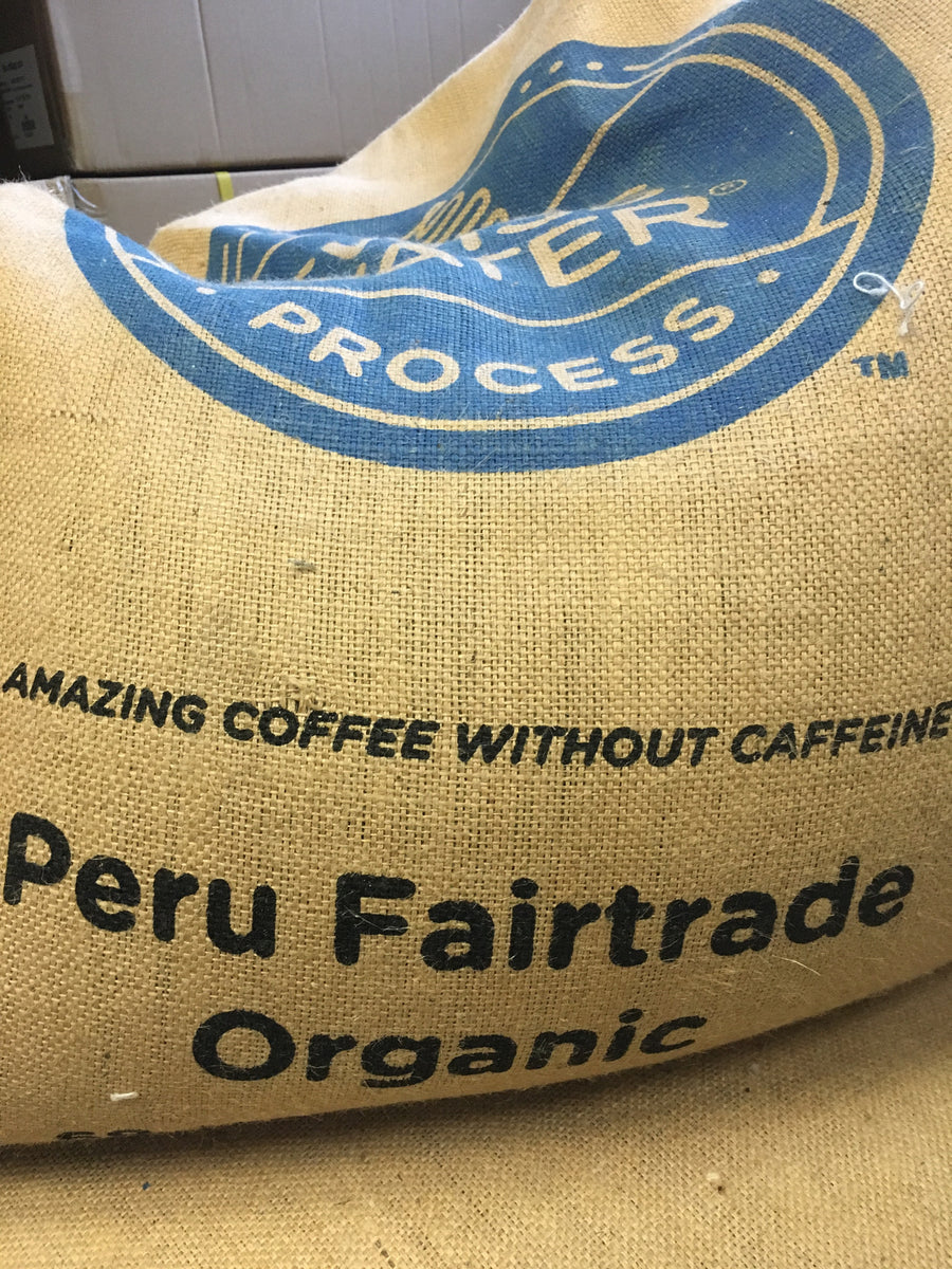 Peru Fairtrade organic coffee