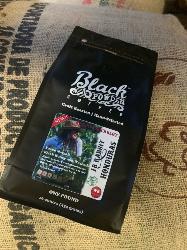 Black Powder Coffee Black Honey Coffee