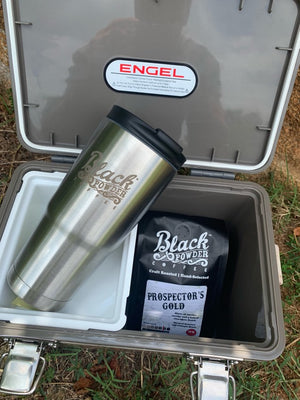 Black Powder Coffee Tumblers