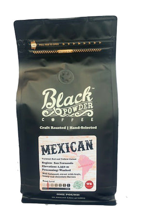 mexican organic craft roasted coffee