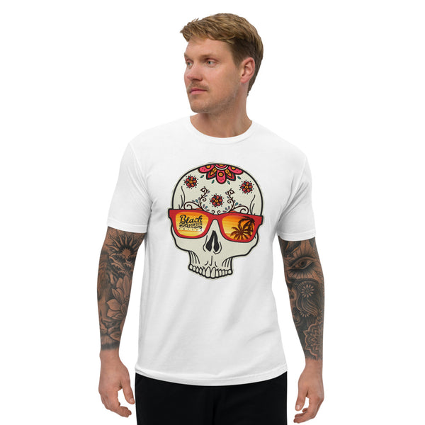 Summer Blend Coffee Skull | Short Sleeve T-shirt