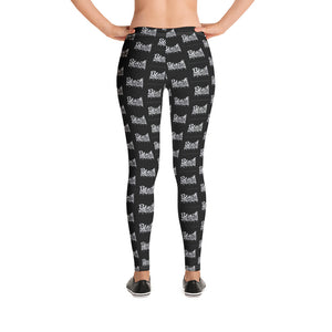 Black Powder Coffee Leggings