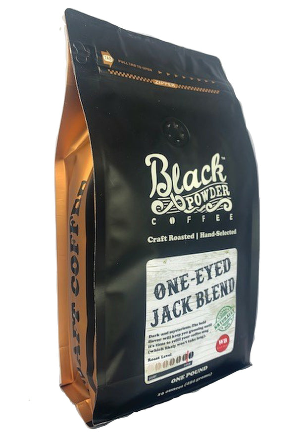 one eyed jack blend coffee