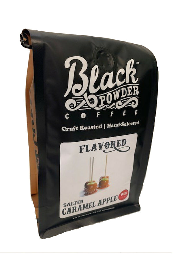 Salted Caramel Apple Flavored Coffee