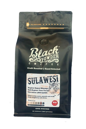 Coffee from Sulawesi Indonesia