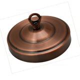 108mm Diameter Ceiling Rose Hook Plate Copper Color Light Fitting Chandelier - Shop for LED lights - Transformers - Lampshades - Holders | LEDSone UK