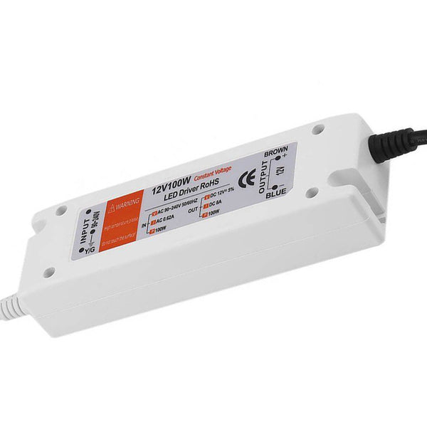 100W Compact LED Driver AC 230V to DC12V Power Supply Transformer - Shop for LED lights - Transformers - Lampshades - Holders | LEDSone UK