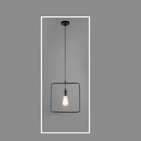Pendant Light Square Shape 4