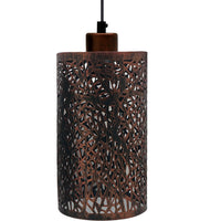 Modern Vintage Pendant lampshade ceiling light industrial style bulb guard cage