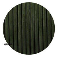 3 Core Round army green Cable
