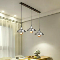 Satin Nickel Multi outlet Ceiling Pendant Kits
