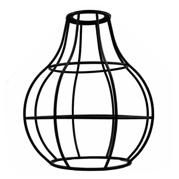 Black Wire Cage Lampshade (34)