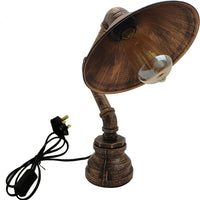Desk Table Lamp Industrial Retro Steampunk Lighting