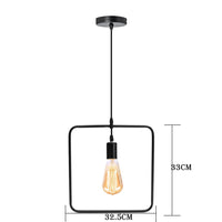 Pendant Light Square Shape 3