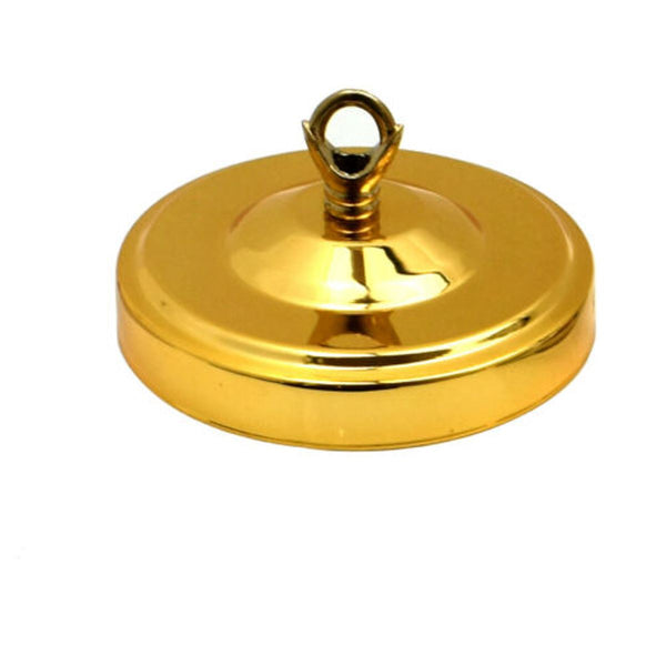 Ceiling Rose Hook Plate Gold Color 108mm Diameter Light Fitting Chandelier