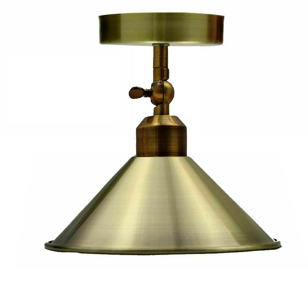 Cone Lampshade adjustable angle ceiling light