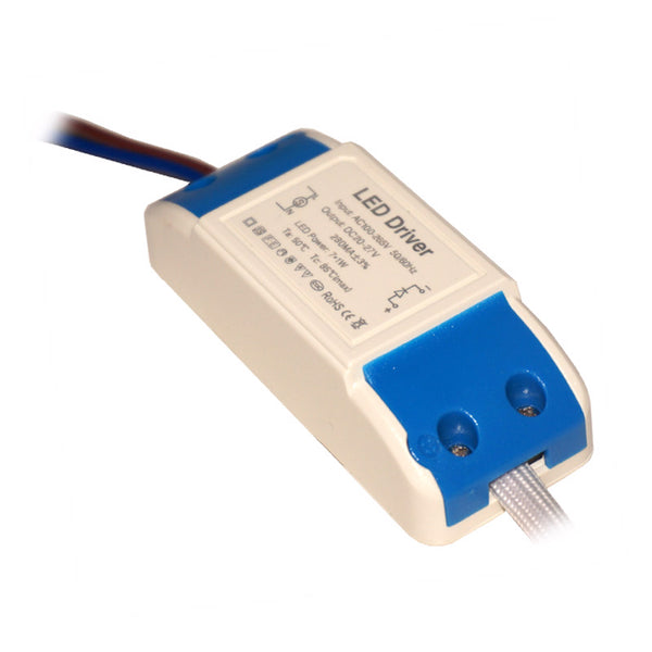 7W 280mAmp DC 20-27V Compact Constant Current LED driver - Shop for LED lights - Transformers - Lampshades - Holders | LEDSone UK