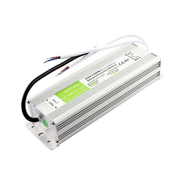 DC24V IP67 150W Waterproof LED Driver Power Supply Transformer