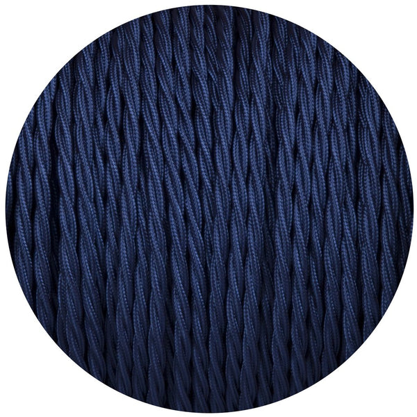 Dark Blue-3 Core Twisted