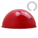 Red Modern Dome Light Shades Easy Fit Ceiling Pendant