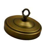 Green Brass Color 108mm Diameter Ceiling Rose Hook Plate Light Fitting Chandelier