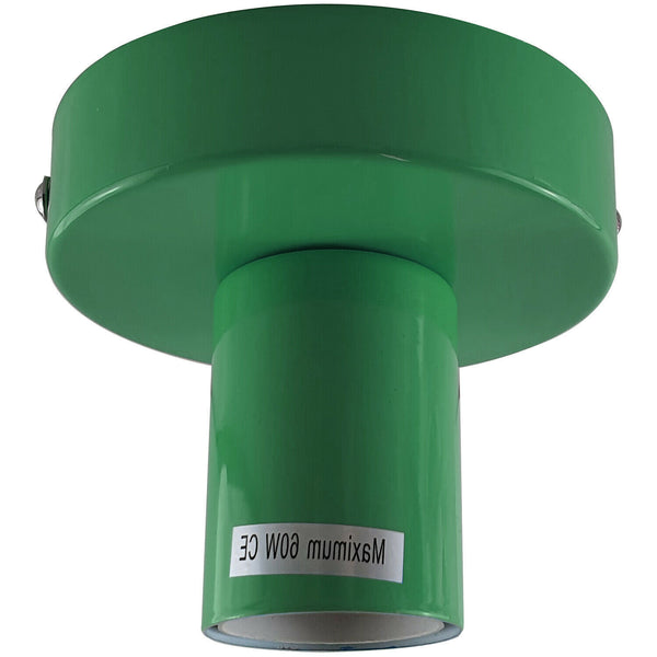 Green Flush Mount Ceiling Light Fitting