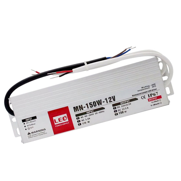 150W LED driver switch power supply transformer IP67 Ultra Slim