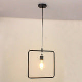 Pendant Light Square Shape 2
